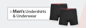 Men's Undershirts and Underwear