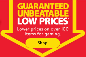 Lower prices on over 100 items for gaming